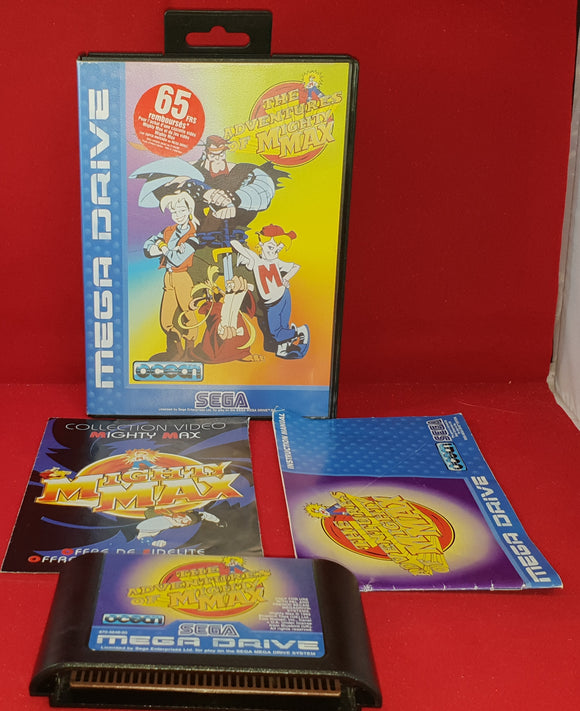 The Adventures of Mighty Max Sega Mega Drive RARE Game