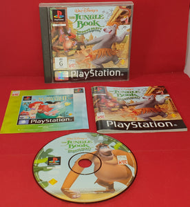 The Jungle Book Groove Party Sony Playstation 1 (PS1) Game