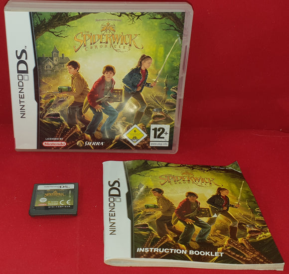 The Spiderwick Chronicles UK Version Nintendo DS Game