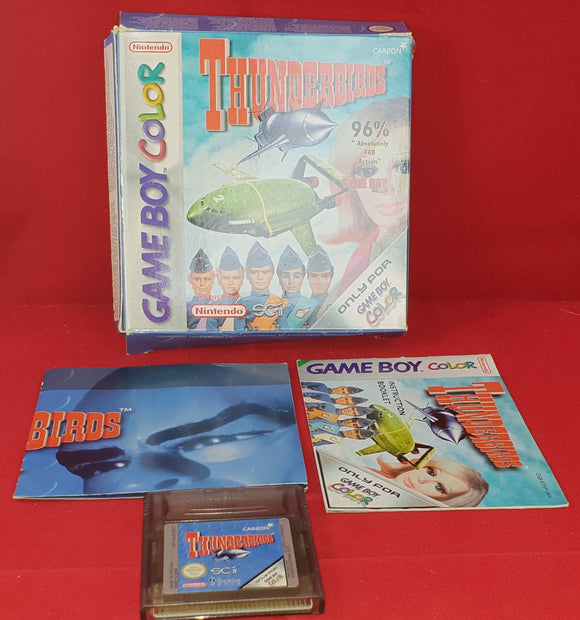 Thunderbirds Nintendo Game Boy Color Game
