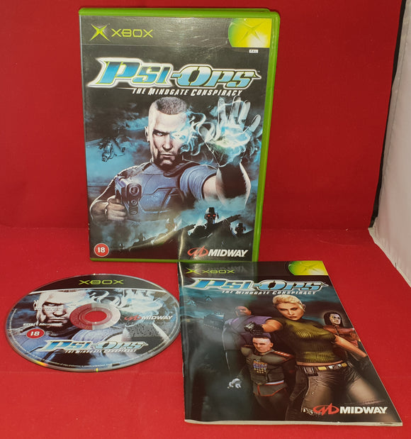 Psi-Ops the Mindgate Conspiracy Microsoft Xbox Game