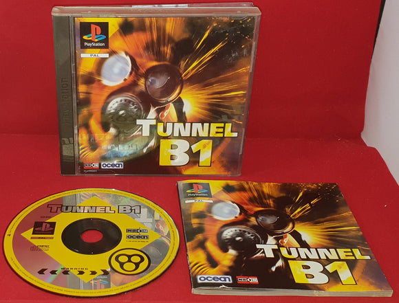 Tunnel B1 Sony Playstation 1 (PS1) Game