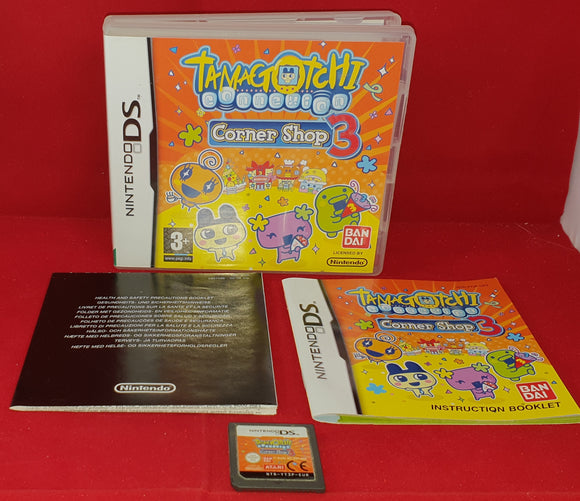Tamagotchi Connexion Corner Shop 3 Nintendo DS Game