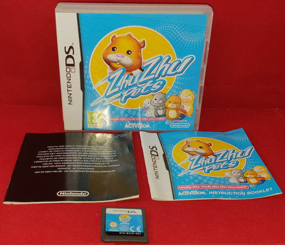 ZhuZhu Nintendo DS Game