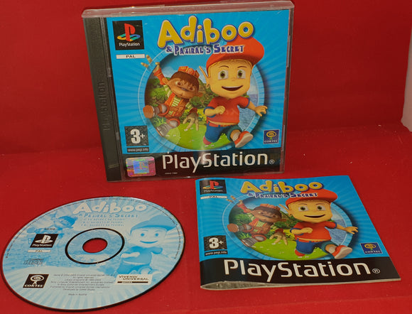 Adiboo & Paziral's Secret Sony Playstation 1 (PS1) Game