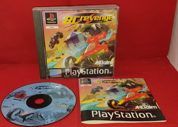 RC Revenge Sony Playstation 1 (PS1) Game