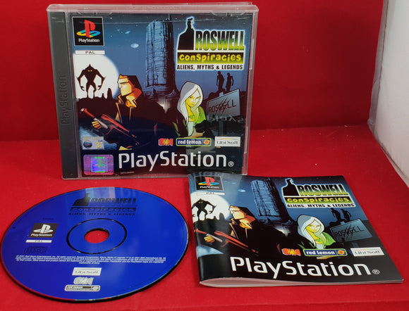 Roswell Conspiracies Aliens, Myths & Legends Sony Playstation 1 (PS1) Game