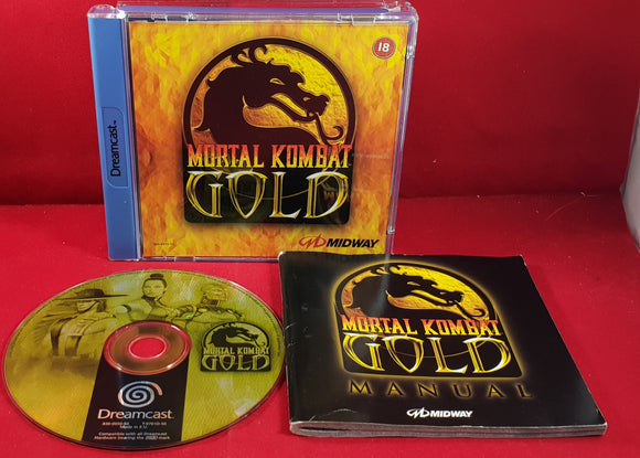 Mortal Kombat Gold Sega Dreamcast Game
