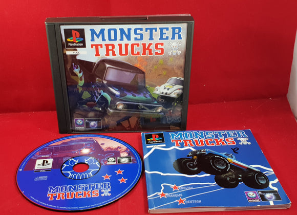 Monster Trucks Sony Playstation 1 (PS1) RARE Game