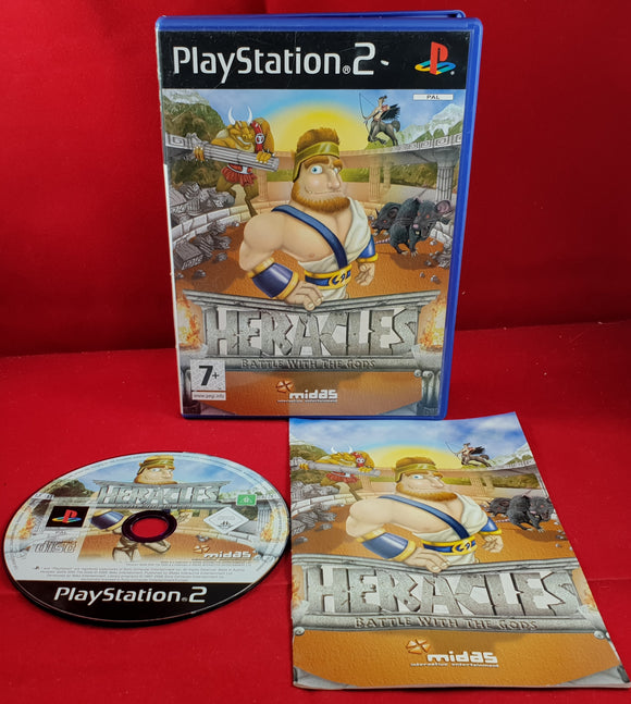 Heracles: Battle with the Gods Sony Playstation 2 (PS2) Game