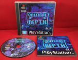 Critical Depth Sony Playstation 1 (PS1) RARE Game
