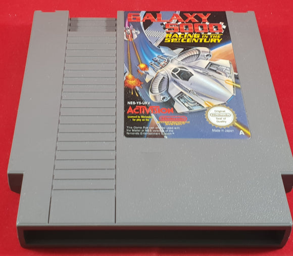 Unboxed Galaxy 5000 NES (Nintendo Entertainment System) game