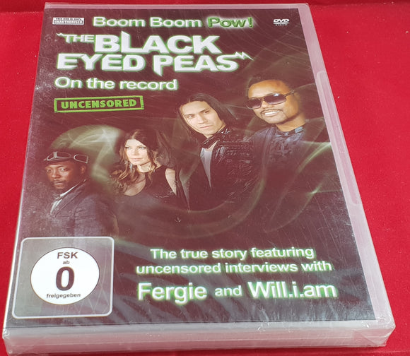 Brand New and Sealed The Black Eyed Peas Boom Boom Pow on the Record DVD