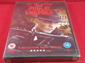 Brand New and Sealed Public Enemies DVD