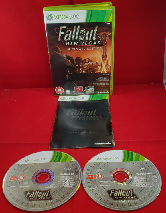 Fallout New Vegas Ultimate Edition Microsoft Xbox 360 Game