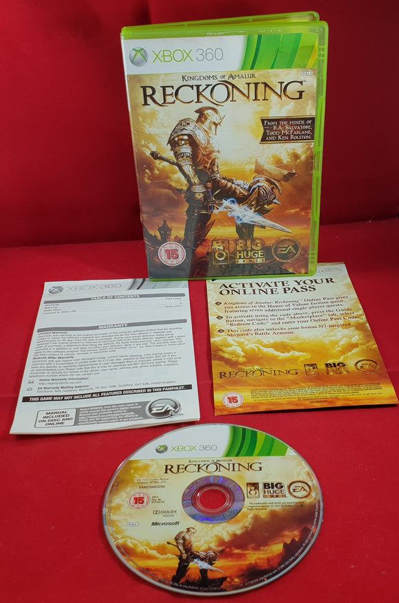 Kingdoms of Amalur Reckoning Microsoft Xbox 360 Game