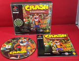Crash Bandicoot Sony Playstation 1 (PS1) Big Box Game