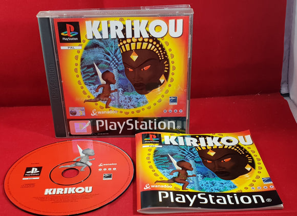 Kirikou Sony Playstation 1 (PS1) Game