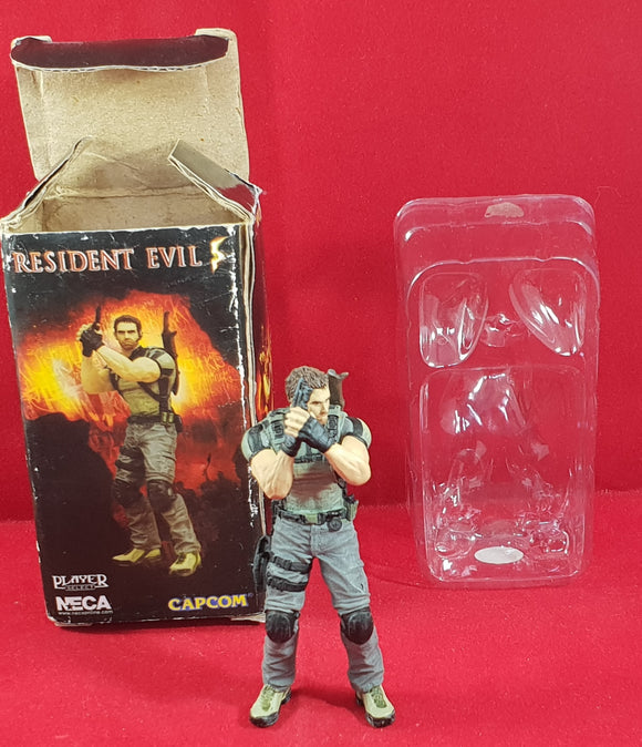 Resident Evil 5 Chris Redfield Figurine Collectable Accessory