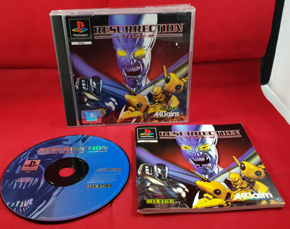 Rise 2 Resurrection Sony Playstation 1 (PS1) RARE Game
