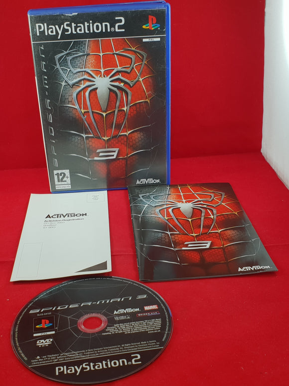 Spider-Man 3 Sony Playstation 2 (PS2) Game