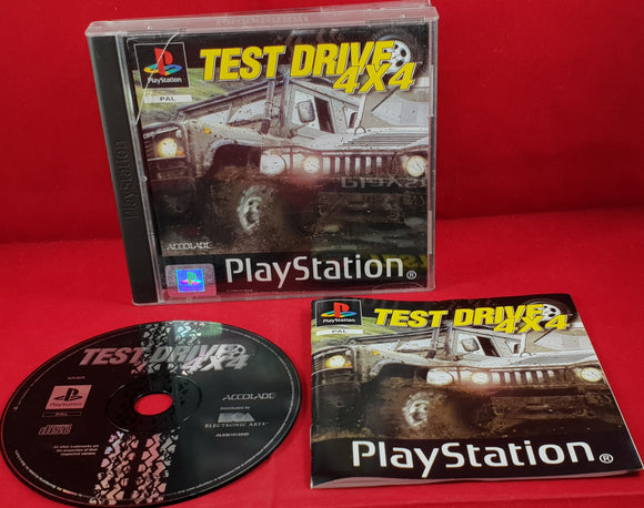 Test Drive 4X4 Sony Playstation 1 (PS1) Game