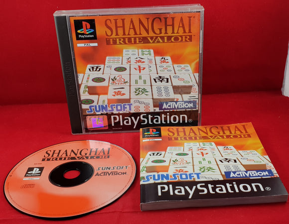 Shanghai True Valor Sony Playstation 1 (PS1) Game