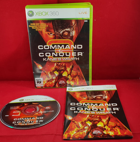 Command & Conquer 3: Kane's Wrath Microsoft Xbox 360 Game