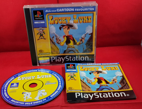 Lucky Luke Sony PlayStation 1 (PS1) Game