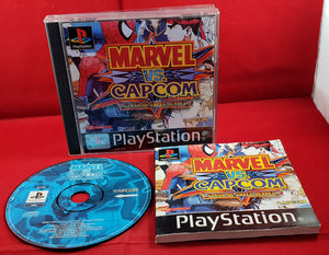 Marvel VS Capcom Clash of Super Heroes Sony Playstation 1 (PS1) RARE Game