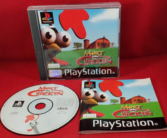 Mort the Chicken Sony Playstation 1 (PS1) Game