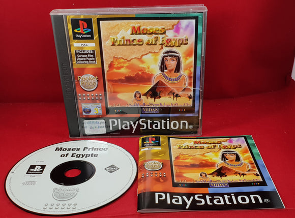 Moses Prince of Egypt Sony Playstation 1 (PS1) Game