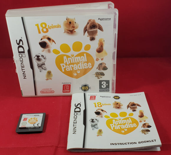 Animal Paradise Nintendo DS Game