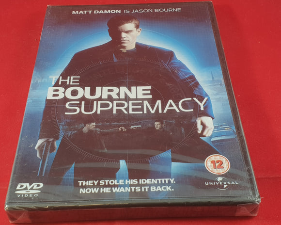New & Sealed The Bourne Supremacy DVD