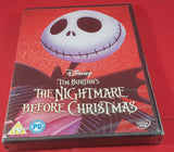 New & Sealed The Nightmare Before Christmas DVD