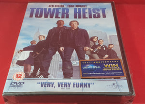 New & Sealed Tower Heist DVD