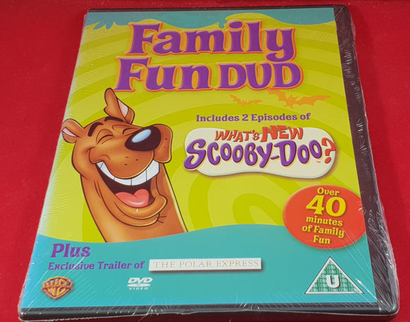 New & Sealed Family Fun Whats New Scooby Doo? DVD
