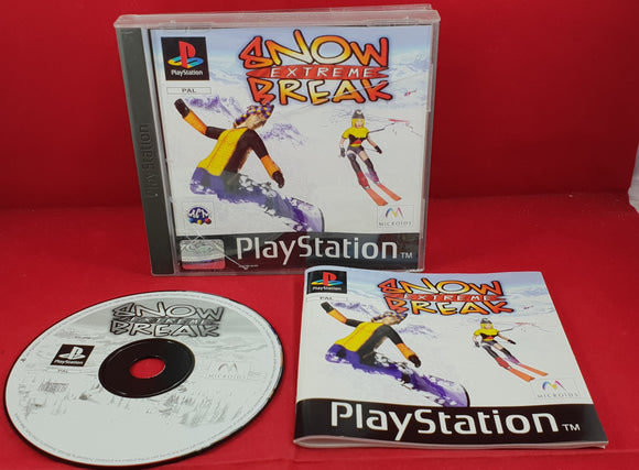 Extreme Snow Break Sony Playstation 1 (PS1) Game