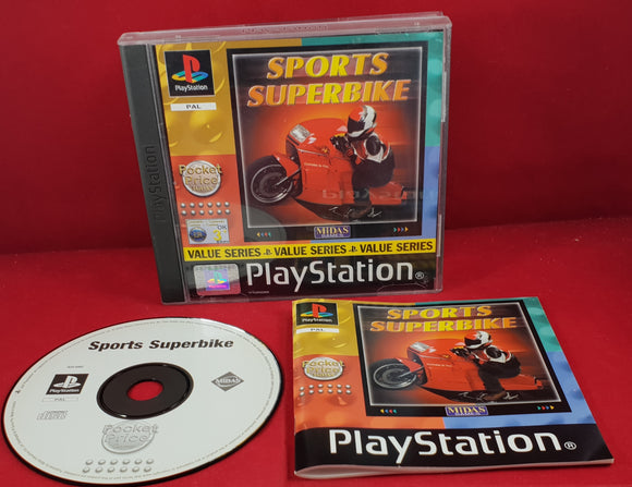 Sports Superbike Sony Playstation 1 (PS1) Game