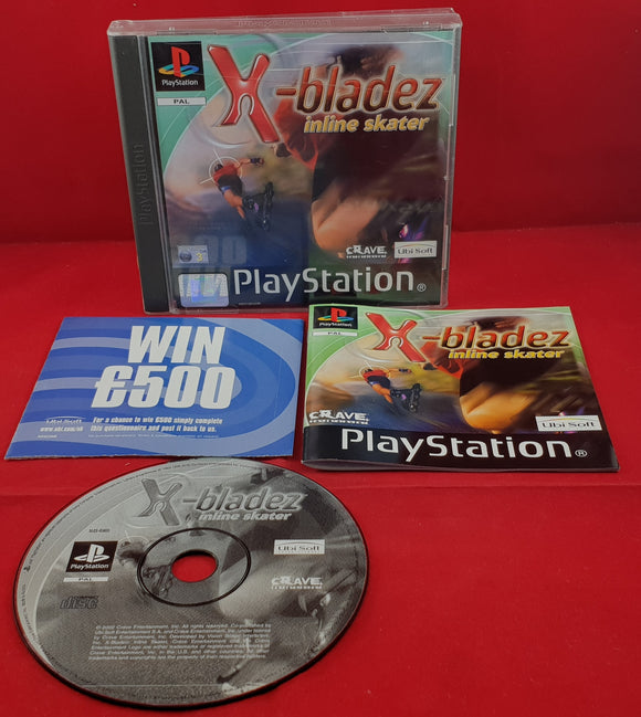 X-Bladez Inline Skater Sony Playstation 1 (PS1) Game