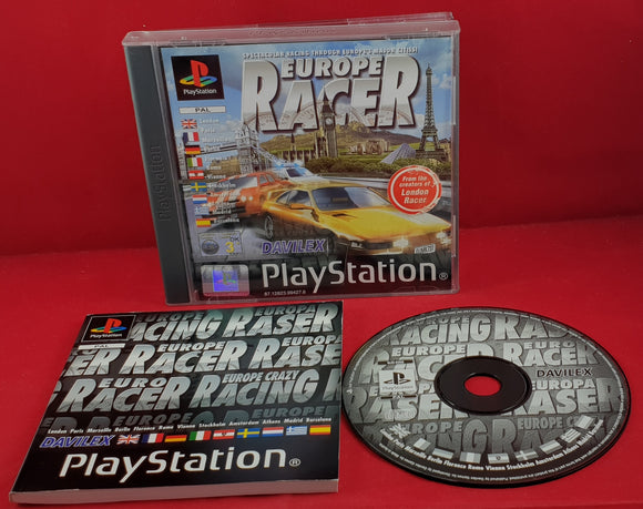 Europe Racer Sony Playstation 1 (PS1) Game