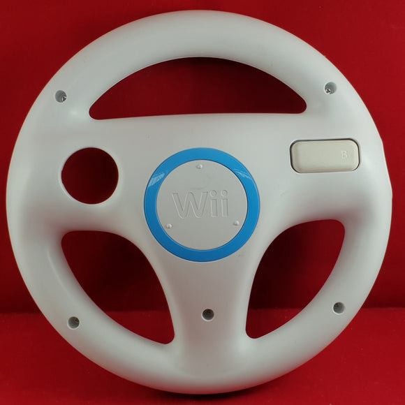 Official Nintendo Wii Racing Wheel Accessory