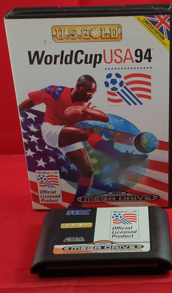 World Cup USA 94 No Manual Sega Mega Drive Game