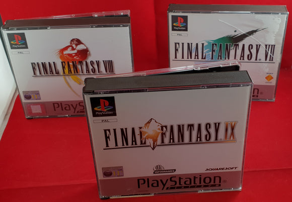 Final Fantasy X3 Platinum Sony Playstation 1 (PS1) Game