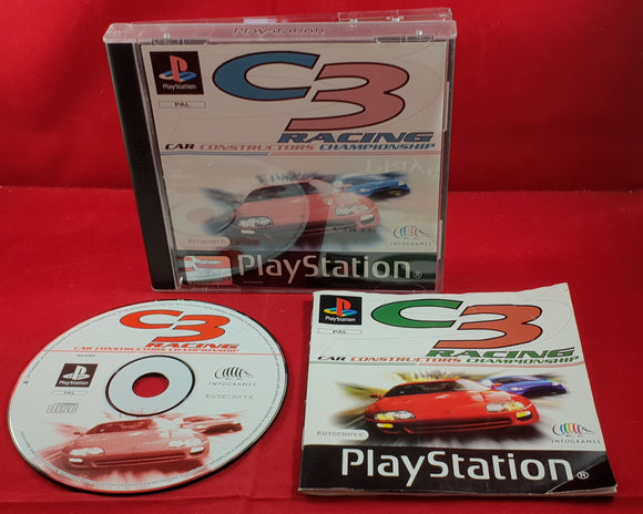 C3 Racing Sony Playstation 1 (PS1) Game