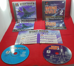 Wing Over 1 & 2 Sony Playstation 1 (PS1) Game Bundle