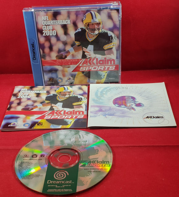 NFL Quarterback Club 2000 Sega Dreamcast Game