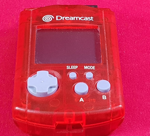 Red Official Sega Dreamcast VMU Accessory