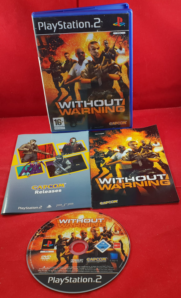 Without Warning Sony Playstation 2 (PS2) Game
