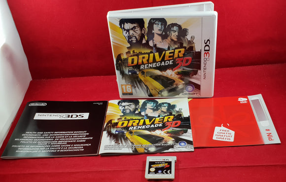 Driver Renegade 3D Nintendo 3DS Game